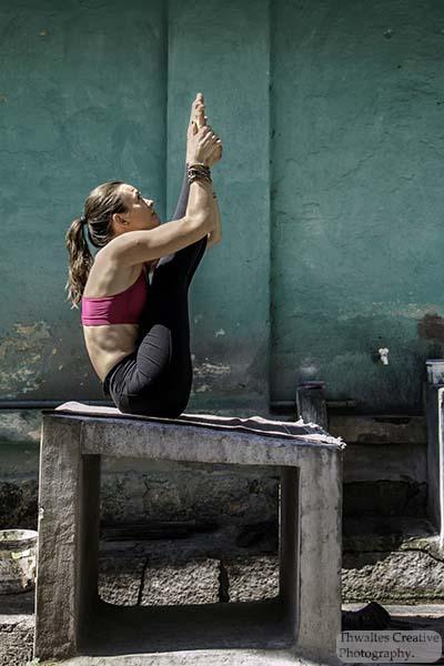 Urdhva Mukha Paschimottanasana, Ashtanga Yoga, Model Marta Magadalena Glowacka